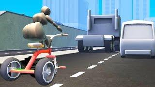 getlinkyoutube.com-TRICYCLE ON THE HIGHWAY! (Turbo Dismount)