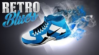 "getlinkyoutube.com-NBA 2K14 Next Gen MyCareer #55 - Nike Signature Shoe Creation ""Retro Blues"" 