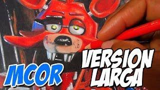 getlinkyoutube.com-Como Dibujar a Foxy de Five Nights At Freddy's | Versión Larga