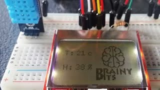 How to use a Nokia 5110 LCD display with an Arduino - Tutorial