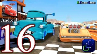 getlinkyoutube.com-Cars: Fast as Lightning Android Walkthrough - Part 16 - SnotRod Race Track