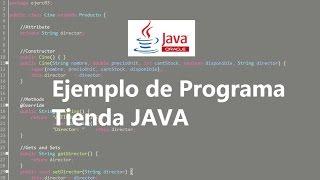getlinkyoutube.com-Ejemplo programa de tienda Java