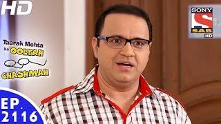 getlinkyoutube.com-Taarak Mehta Ka Ooltah Chashmah - तारक मेहता - Episode 2116 - 16th January, 2017