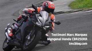 getlinkyoutube.com-Pendapat Marc Marquez tentang Honda CBR250RR