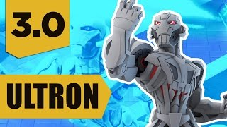 getlinkyoutube.com-Disney Infinity 3.0: Ultron Gameplay and Skills