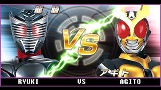 Kamen Rider Ryuki VS Agito # Otoy Game (HD)