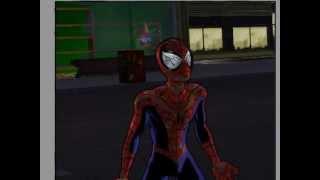 getlinkyoutube.com-Ultimate Spiderman MOD Traje dañado/Damage suit