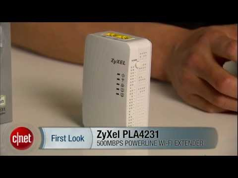 First Look: Extend your Wi-Fi network quickly via power-line with ZyXEL PLA4231