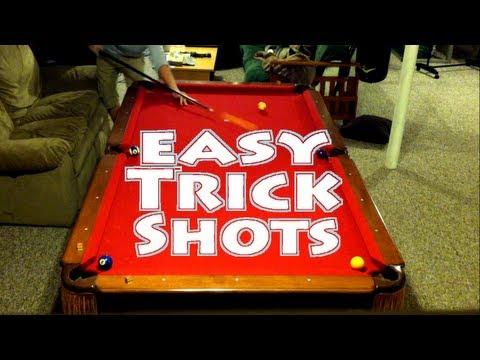 Easy Pool Trick Shots - Beginner Level
