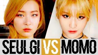 getlinkyoutube.com-Red Velvet's Seulgi VS Twice's Momo