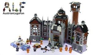 getlinkyoutube.com-Lego Batman Movie 70912 Arkham Asylum - Lego Speed Build Review