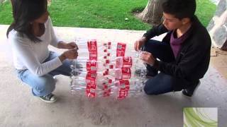 getlinkyoutube.com-basurero con botellas reciclables