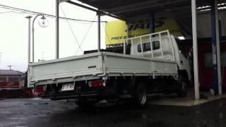 getlinkyoutube.com-JATS ジャッツ エアサス 2t トラック移動販売車