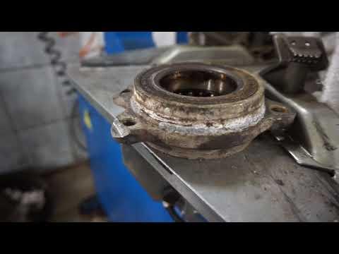 Audi a6 с7 замена подшипника ступицы