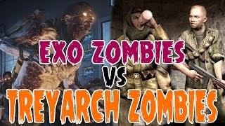 """""""Exo Zombies"""" VS """"Treyarch Zombies""""! 