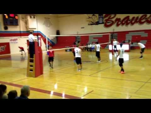 Home Game (ECVHS) against Lutheran High School volleyball game 3