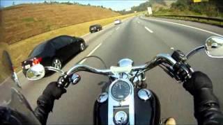 Impressões sobre a moto, e quem tem Harley é rico? - Harley - Softail FX - FXST - Go Pro Hero