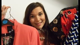 getlinkyoutube.com-Beauty and Fashion Haul Drugstore Primark Miss Selfridge Ted Baker & More || Buttons and Bows X