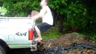 getlinkyoutube.com-backflip fail into horse poop