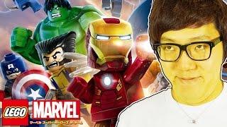 getlinkyoutube.com-LEGO®マーベル スーパー・ヒーローズ ザ・ゲームやってみた!【ヒカキンゲームズ】