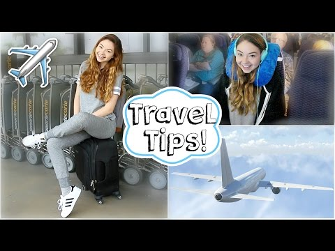 Airplane/Travel Tips + Easy Makeup & Outfit! | Meredith Foster