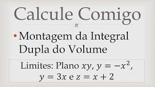 getlinkyoutube.com-Montando a Integral Dupla do Volume do Sólido