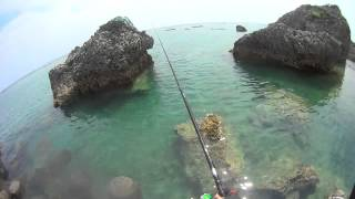 getlinkyoutube.com-G-CHOでフカセ釣りを楽しむ! 休日釣行 久しぶりにグーチョ使ったW