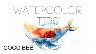 getlinkyoutube.com-5MIN BEGINNER's Watercolor TIPS