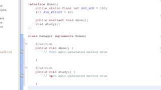Java cơ bản 24: Interface