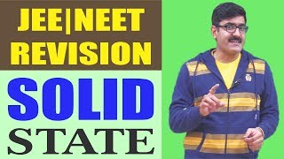 Solid State Revision 2017 | NEET/JEE width=