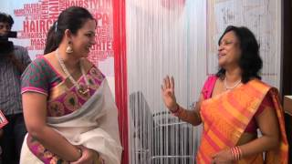 getlinkyoutube.com-Sun Tv Anchor Archana Chandhoke Inauguarates Javed Habib Hair & Beauty Saloon LLaunch