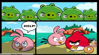 getlinkyoutube.com-Angry Birds Online Games - Episode Angry Birds Heroic Rescue Levels 1-24 - Rovio Games