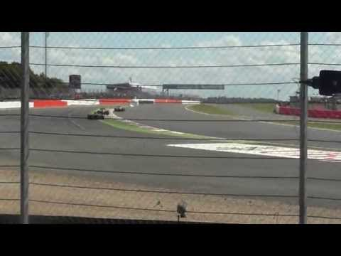 F1 2014 | British Grand Prix | Overtake | Alonso Passes Vettel At Copse | (POV) | HD