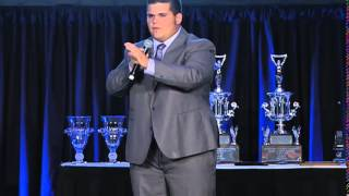 Justin Croy, 2014 International Junior Auctioneer Champion - 2014 IJAC Finals