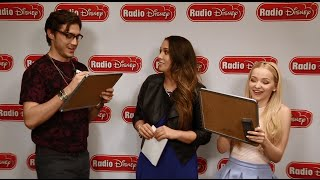 getlinkyoutube.com-How Well Do The Girl and the Dreamcatcher Know Each Other? | Radio Disney