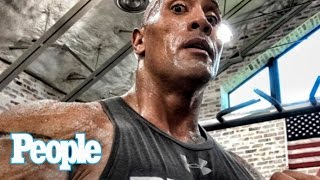Dwayne 'The Rock' Johnson Reveals The Workouts That Make Him So Sexy   SMA 2016   People