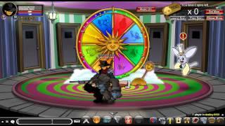 getlinkyoutube.com-AQW - New Wheel Of Doom-Destiny pet called Giant Angry Werewolf