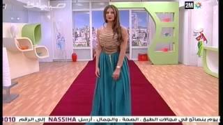 getlinkyoutube.com-صباحيات   إبداعات القفطان المغربي   زكية البراق   الأربعاء 12 نونبر 2014