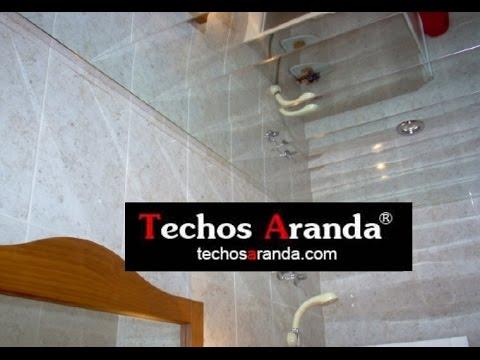 Cielo raso para baño - TechosDeAluminio.com
