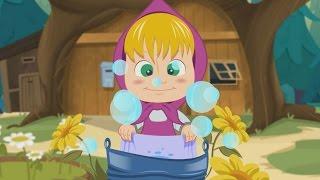 getlinkyoutube.com-La bella Lavanderina con Masha e Orso - Canzoni per bambini  e bimbi piccoli di Dolci Melodie Tv