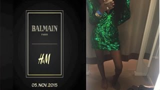 getlinkyoutube.com-Balmain  X H&M Haul