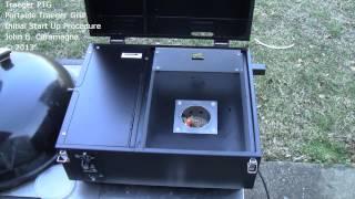 getlinkyoutube.com-Traeger PTG Portable Traeger Grill Initial Start Up