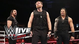 WWE Live India 2017- 9 December 2017 Full Show