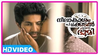 Neelakasham Pachakadal Chuvanna Bhoomi Movie | Scenes | Dulquer's parents disapprove Surja Bala