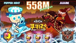 getlinkyoutube.com-Kakao CookieRun 558M [EP.3] PepperMint+Jujube เปปเปอร์มิ้นท์+กวนอู Perfect | xBiGx