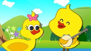 getlinkyoutube.com-Five Little Ducks | Nursery Rhymes &  Numbers Songs by HooplaKidz | 82 Mins Compilation