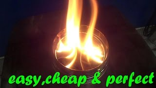 getlinkyoutube.com-Woodgas Stove : easy - cheap - efficient : BURNING TEST