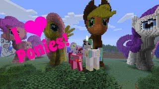 getlinkyoutube.com-Amys Minecraft World Tours! Equestria & Ponies! | Amy Lee33