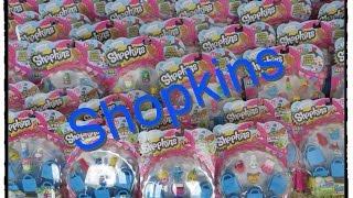 getlinkyoutube.com-Shopkins Season One Huge Haul New Figures Toy Unboxing Review