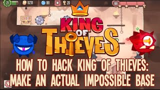 How to Hack King of Thieves: Make an Actual Impossible Base